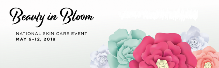 Beauty In Bloom Jan Marini National Skincare Event