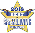 Oasis wins 2018 South Shore Living Best Day Spa