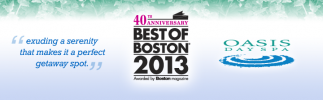 Voted Best Day Spa South of Boston